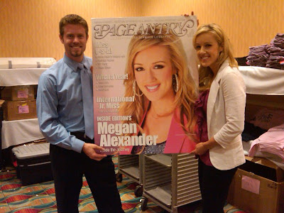 Megan Alexander,  Inside Edition,  Brian Cournoyer,  Califor National American Miss,  Pageantry magazine,  Miss 2010, Pageants, Carl Dunn, NAM,