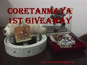 Coretan Maya Giveaway