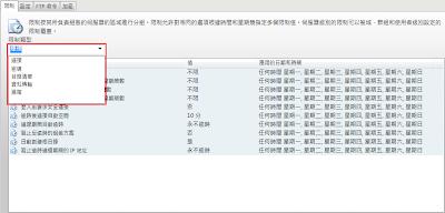 Serv-U 8伺服器限制和設定-5類