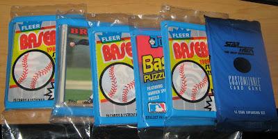 Dollar Tree Cards: Baseball Security, Klingon Style