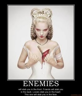 | ENEMIES - WHO? |