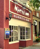Exterior Machismo Burrito Bar, Norfolk Restaurant