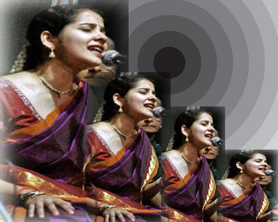 Carnatic Singer K.Gayathri´s Performance In Margazhi Vaibhavam 2012