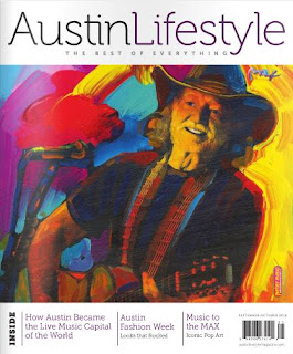 Austin Lifestyle Magazine, Peter Max, Park West Gallery, cruise art auctions, fine art prints, Park West artist