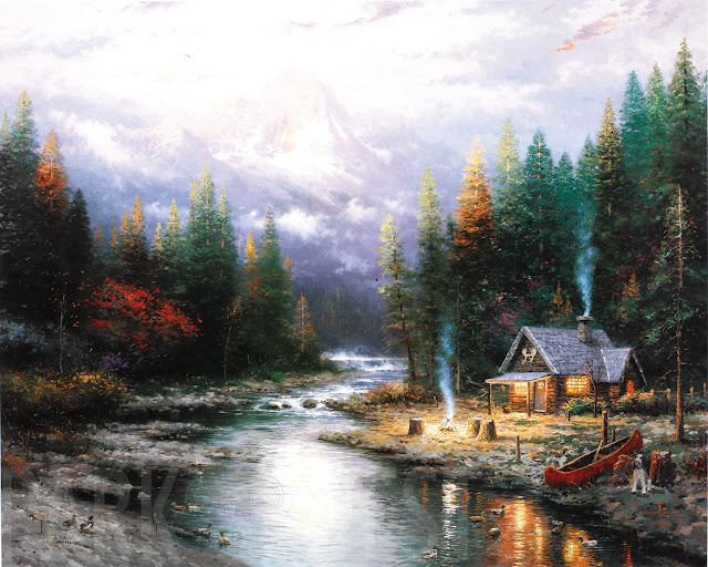 Thomas Kinkade, Park West Gallery, art giveaway