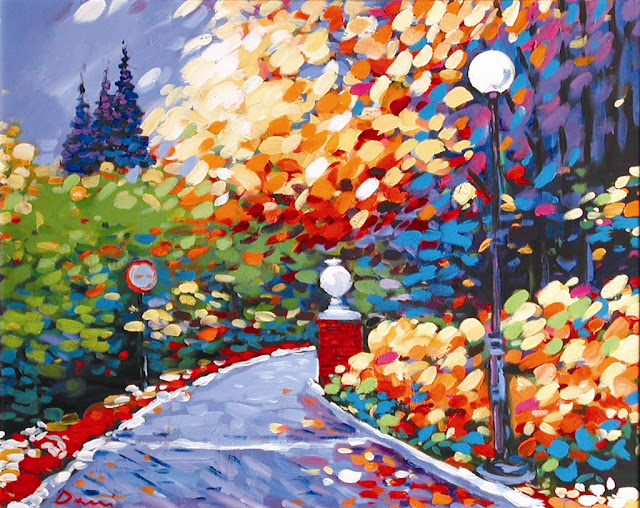 autumn, fall, fine art collection, Park West Gallery