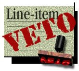 line-item veto power