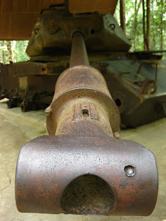 US tank at Cu Chi tunnels