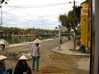 Street along main canal