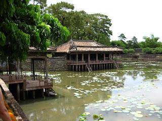 Lake at Nguyen Tu Duc tomb