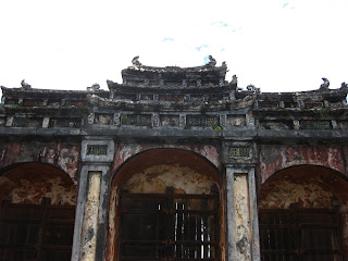 Gate at Nguyen Minh Mang tomb