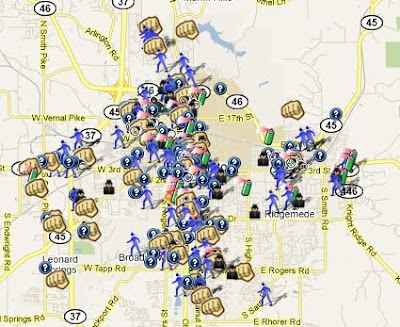 SpotCrime The Publics Crime Map - Us crime map by county