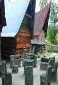 Makam Raja Sidabutar di TOMOK