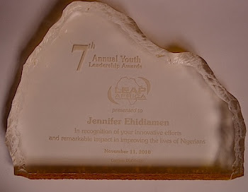 LEAPAfrica Award 2010