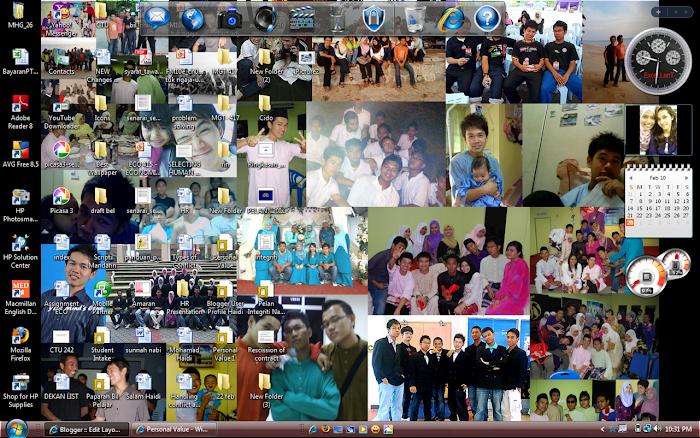 My Desktop..hehe
