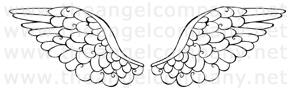 ... Angel Company! What would a stamp set be without a pair of Angel Wings