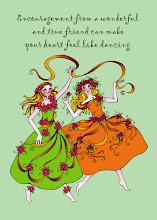 Sisters of Spring Print