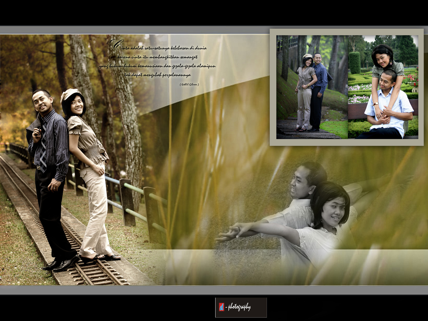 album kolase pre wedding wedding