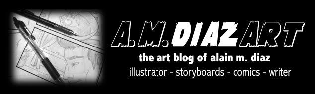 Alain M. Diaz Art