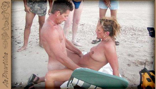Fotos de Sexo na Praia