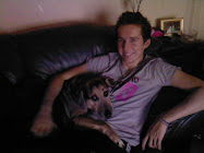 My two babies - Jamie (DS) & Jake (my baby dog)