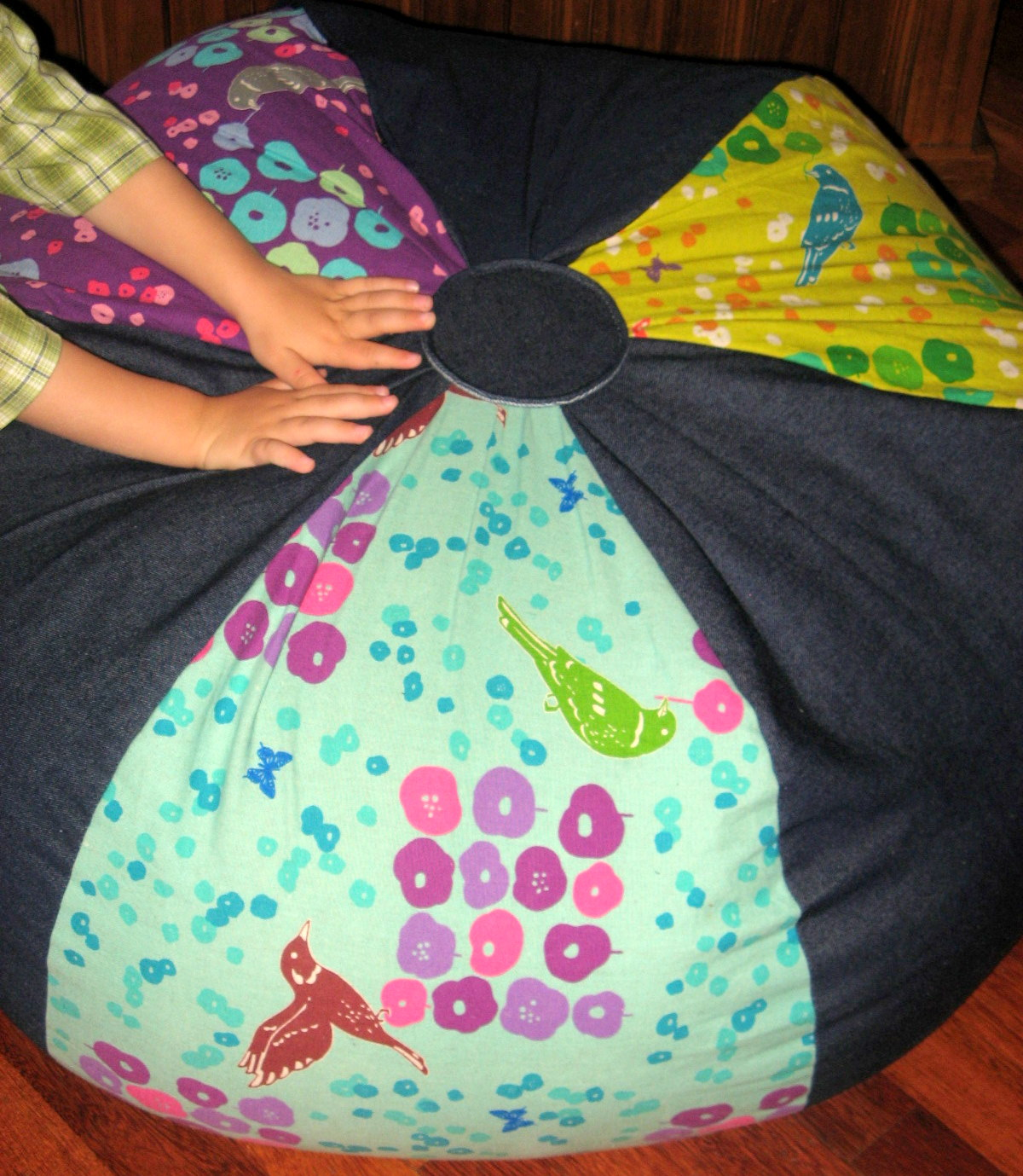 The Linen Cupboard: Beanbag Chair Sewing Pattern