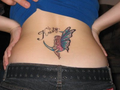 love tattoo lower back