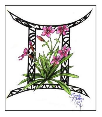 Gemini Tattoos Design Picture 5