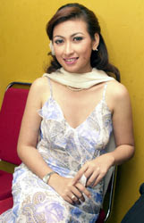 gambar foto annisa trihapsari sexy photo artist pictures gallery