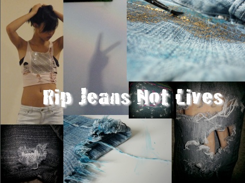 Rip Jeans Not Lives