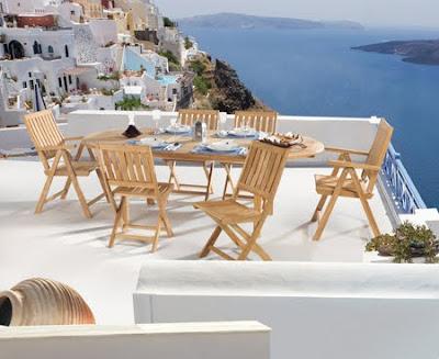 Bahçe için Masa ve sandalyeler
