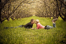 Orchard Engagement Photo
