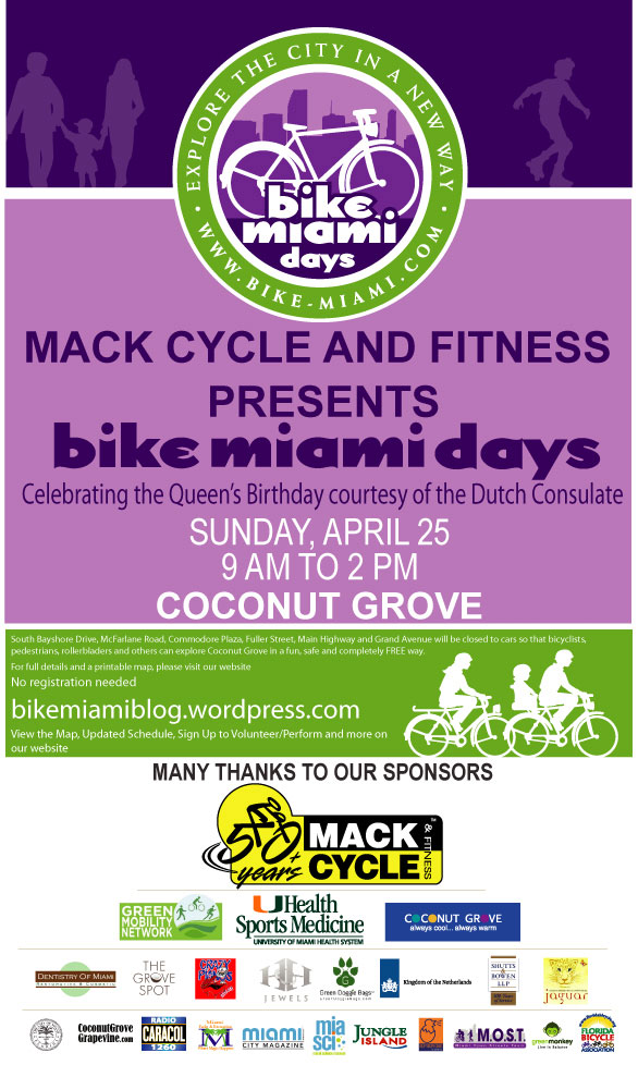 Bike Miami Days the first Bike Miami Days
