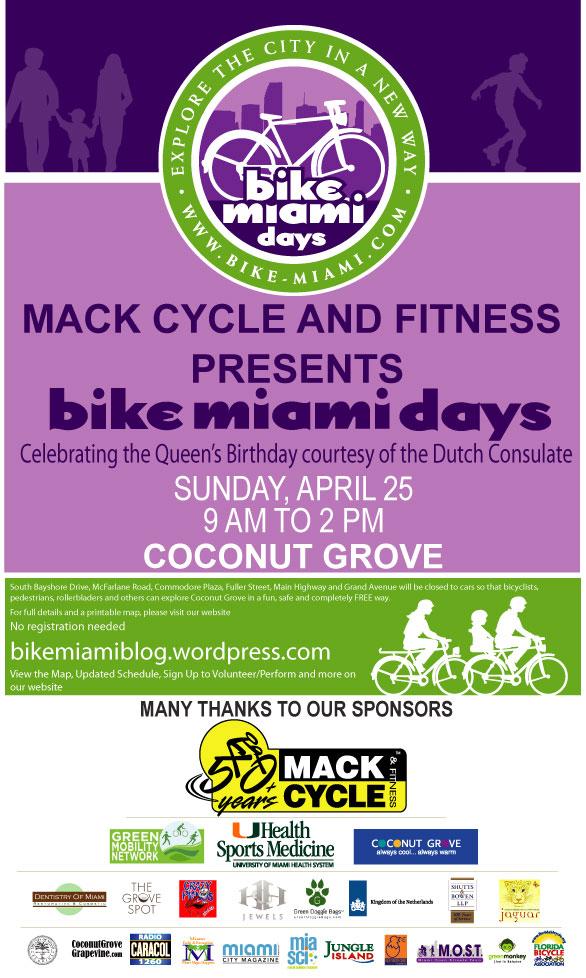 Bike Miami Days the first Bike Miami Days