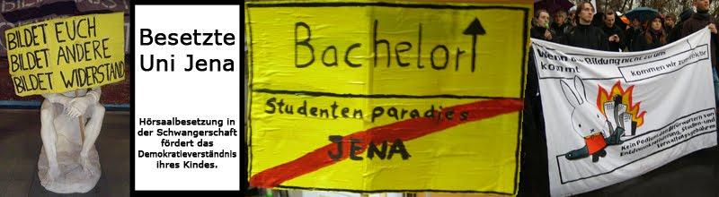 Besetzte Uni Jena