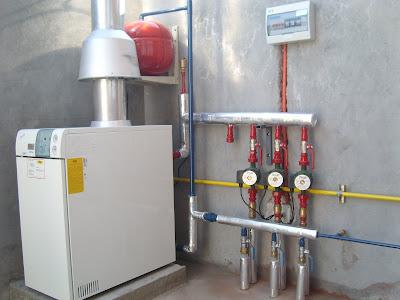 Materco instalaciones calefaccion central for Radiadores agua calefaccion