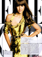 Jessica Alba in revista Elle