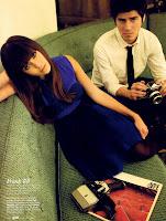 Jessica Alba in revista Elle