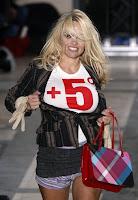 Catwalk : Pamela Anderson