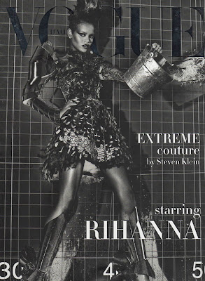 Rihanna - hot in Vogue