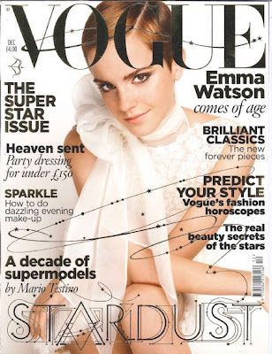 Emma Watson in Vogue December 2010