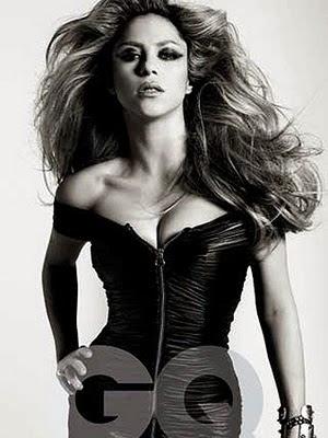 Shakira pe coperta GQ