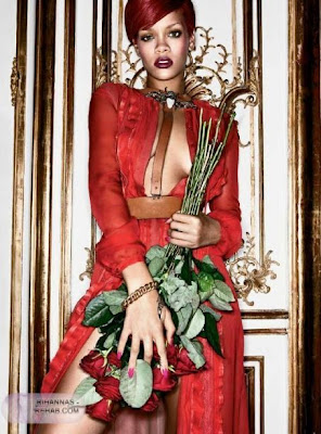 Rihanna covers Interview Magazine (January 2011)