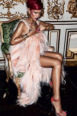 Rihanna covers Interview Magazine (January 2011)