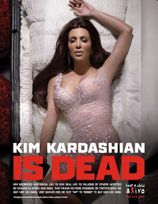 Kim Kardashian is dead
