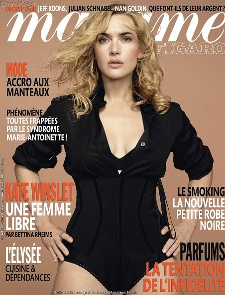 Kate Winslet in revista Madame