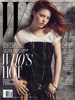 Emma Stone in W Magazine