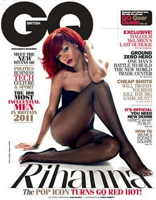 Rihanna GQ UK