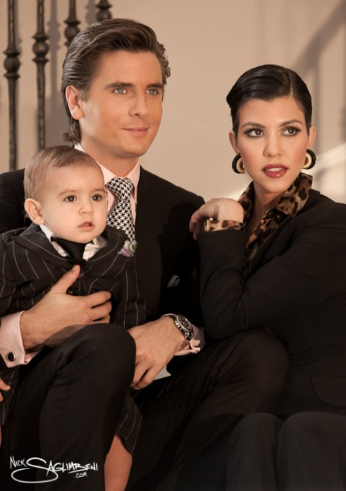 Kim Khardashian & Family Christmas Card