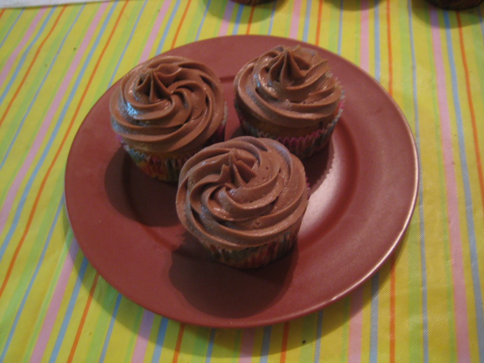 how to make nutella cupcakes with vanilla cake mix